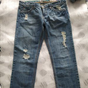 👖Billabong Est 1973 distressed boyfriend jeans